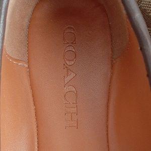Coach Shoes - Coach Brown Flat Shoes size 6.5